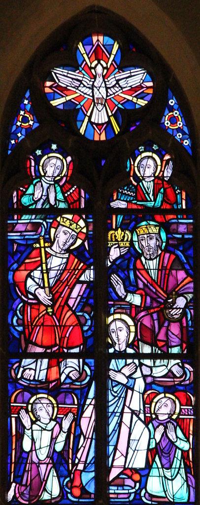Chor mittleres Fenster Ausschnitt